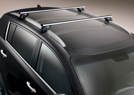 Kit barras de techo transversales